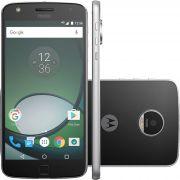 Smartphone Moto Z Play XT1635 Octa Core, Android 6, Tela 5,5 , 32GB, 16MP, 4G. Dual Chip, Preto/Prata - Motorola