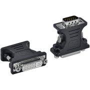 Adaptador DVI 24+5 fêmea x VGA Macho 15 Pinos ADVIIF-V 23578 - Vinik