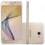 Smartphone Galaxy J7 Prime G610M/DS Octa Core 1.6Ghz, Android 6.0.1, 13MP, 32GB, Tela 5.5 Leitor Digital, Dual Chip, Dourado - Samsung
