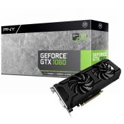 Placa de Vídeo Geforce GTX 1060 6GB DDR5 192Bits VCGGTX10606PB - PNY