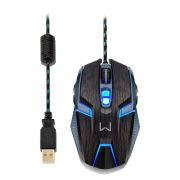 Mouse Gamer Warrior Ambidestro 4000 DPI MO252 - Multilaser