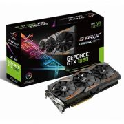 Placa de Vídeo Geforce GTX1060 Boost Clock 6GB DDR5 192Bits Aura STRIX-GTX1060-6G-GAMING - Asus