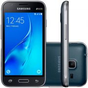 Smartphone Galaxy J1 Mini Duos SM-J105B/DL, Quad Core 1.2 Ghz, Android 5.1, Tela 4, 8GB, 5 MP, 3G, Preto - Samsung