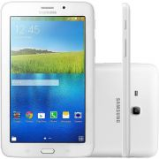 Tablet Galaxy Tab E 7 WI-FI SM-T113NU 8GB, Android 4.4, Quad Core 1.3GHz, Câmera 2MP, RAM 1GB Branco - Samsung