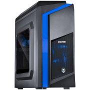 Gabinete Mid Tower Dark DWARF Led Azul DWAPTOAZ2FCA 25987 - Pcyes