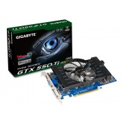 Placa de Video GeForce GTX550TI 1GB DDR5 192Bits GV-N550D5-1GI - Gigabyte