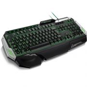 Teclado USB Gamer Metal War TC189 - Multilaser