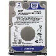 HD para Notebook 500GB Blue 7mm 16MM Sata III WD5000LPCX - Western Digital