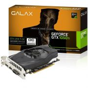 Placa de Vídeo GeForce GTX 1050 Ti 4GB OC DDR5 128Bits 50IQH8DSN8OC - Galax