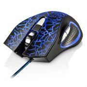Mouse Gamer Óptico, USB 3D, 2400dpi, 6 Botões, 4 Cores em LED´s MO250 - Multilaser