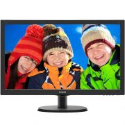 Monitor LED 21,5 Full HD 5ms SmartControl Inclinação HDMI/VGA 223V5LHSB2 - Philips