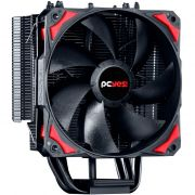 Cooler para Processador Zero KZ4 120mm AMD/Intel Preto ACZK4120 - Pcyes