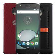 Smartphone Moto Z Play Sound Edition, XT1635, Dual Chip, Preto, Tela 5.5, 4G+WiFi, Android 6.0, 16MP, 32GB + Snap Sound JBL - Motorola
