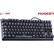 Teclado Gamer Mecânico Axion com Led Branco 25197 - Pcyes