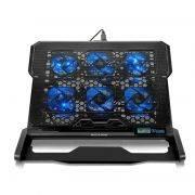 Base para Notebook Hexa com Cooler até 17 AC282 - Multilaser