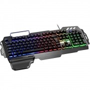 Teclado Gamer Semi Mecânico Warrior TC210 - Multilaser