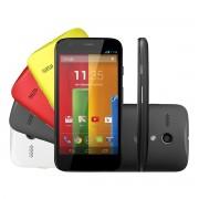 Smartphone Moto G XT1033, 3G, Android 4.3, Camera 5MP, 16GB, Processador Quad Core 1.2Ghz