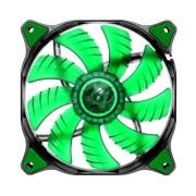 Cooler para Gabinete 120mm Dual-X Green LED CF-D12HB-G - Cougar