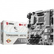 Placa Mãe AM4 B350 Tomahawk Artic DDR4 - MSI