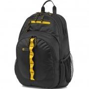 Mochila Sport para Notebook até 15.6 Preto / Amarelo F3W17AA - HP