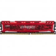 Memória Ballistix Sport LT 16GB 2400Mhz DDR4 CL16 RED BLS16G4D240FSE - Crucial