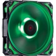 Cooler para Gabinete Fury F4 120mm LED Verde F4120LDVD 24036 - Pcyes