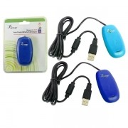 Receptor de Controle para XBOX 360 Wireless USB para PC Sem Fio Azul AD0244AZ KP-5127 - KNUP