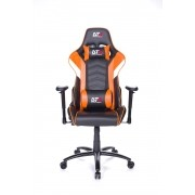 Cadeira Gamer Elise Black Orange 10636-6 - DT3 Sports