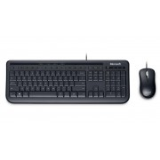 Teclado e Mouse Wired Desktop 600 USB APB-00005 - Microsoft