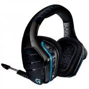 Fone de Ouvido de Sem Fio com Microfone G933 Artemis Spectrum RGB Surround 7.1 Preto/Azul - Logitech