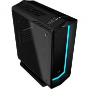 Gabinete Gamer Mid Tower Project 7 Vidro Temperado EN58355 Preto - Aerocool