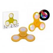 Hand Spinner Led Anti Stress Amarelo HS0001Y - OEM