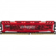Memória Ballistix Sport LT 8GB 2400Mhz DDR4 CL16 RED BLS8G4D240FSE - Crucial