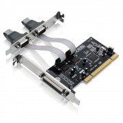 Placa PCI com 2 Serial + 1 Paralela GA129 - Multilaser