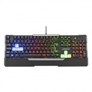Teclado Gamer Semi Mecânico Warrior TC208 - Multilaser