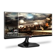 Monitor 25 IPS UltraWide Dual link DVI, HDMI x2, DP, Split 4-Screen 25UM65 - LG