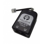 Filtro ADSL Telmax F2-T2 Duplo Preto - Telmax