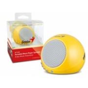Caixa de Som SP-I300 para Ipad/Iphone 2W RMS com tocador MP3 e Bateria Recarregável - Genius