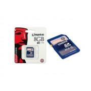 Cartao de Memoria 8GB SDHC Classe 4 Secure Digital SD4/8GB - Kingston