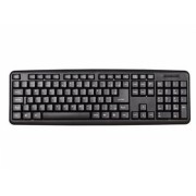 Teclado Padrao Preto PS2 TCPR02-PS2 - PC Top