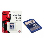 Cartao de Memoria 32GB SDHC Classe 4 Secure Digital SD4/32GB - Kingston