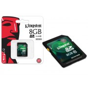 Cartao de Memoria 8GB SDHC Classe 10 Secure Digital SD10V/8GB - Kingston