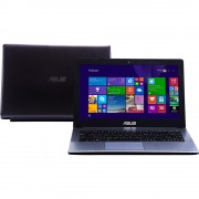 Notebook X450LC-BRA-WX109H - Core i7, 8GB, HD 750GB, Video GeForce GT 720M dedicada Tela 14 Tela 14 Windows 8 - Asus