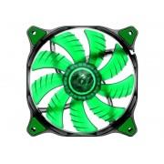 Cooler para Gabinete 140mm Dual-X Verde LED CF-D14HB-G - Cougar
