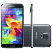 Smartphone Galaxy S5 com Android 4.4, Quad Core 2.5 Ghz e Câmera de 16 MP com Flash Preto LED SM-G900M - Samsung