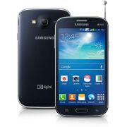 Smartphone Galaxy Gran Duos 2 TV G7102 - Android 4.3, 3G, Tela de 5,3, Câm 8MP, Quad Core 1.2 GHz, Dual Chip Preto