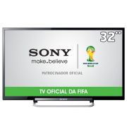TV LED 32 HD KDL-32R434A Com Motionflow 120HZ,Rádio FM,Conversor Digital e Entradas HDMI e USB - Sony