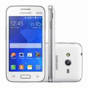 Smartphone Galaxy Ace 4 Lite Duos Dual Chip Branco Android 4.4 3G/Wi-Fi Câmera 3MP 4GB SM-G313ML/DS - Samsung