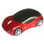 Mouse carro Optico usb Ferrari Vermelho GM-S100 - -