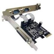 Placa PCI-Express C/2 seriais e 1 Paralela PC12